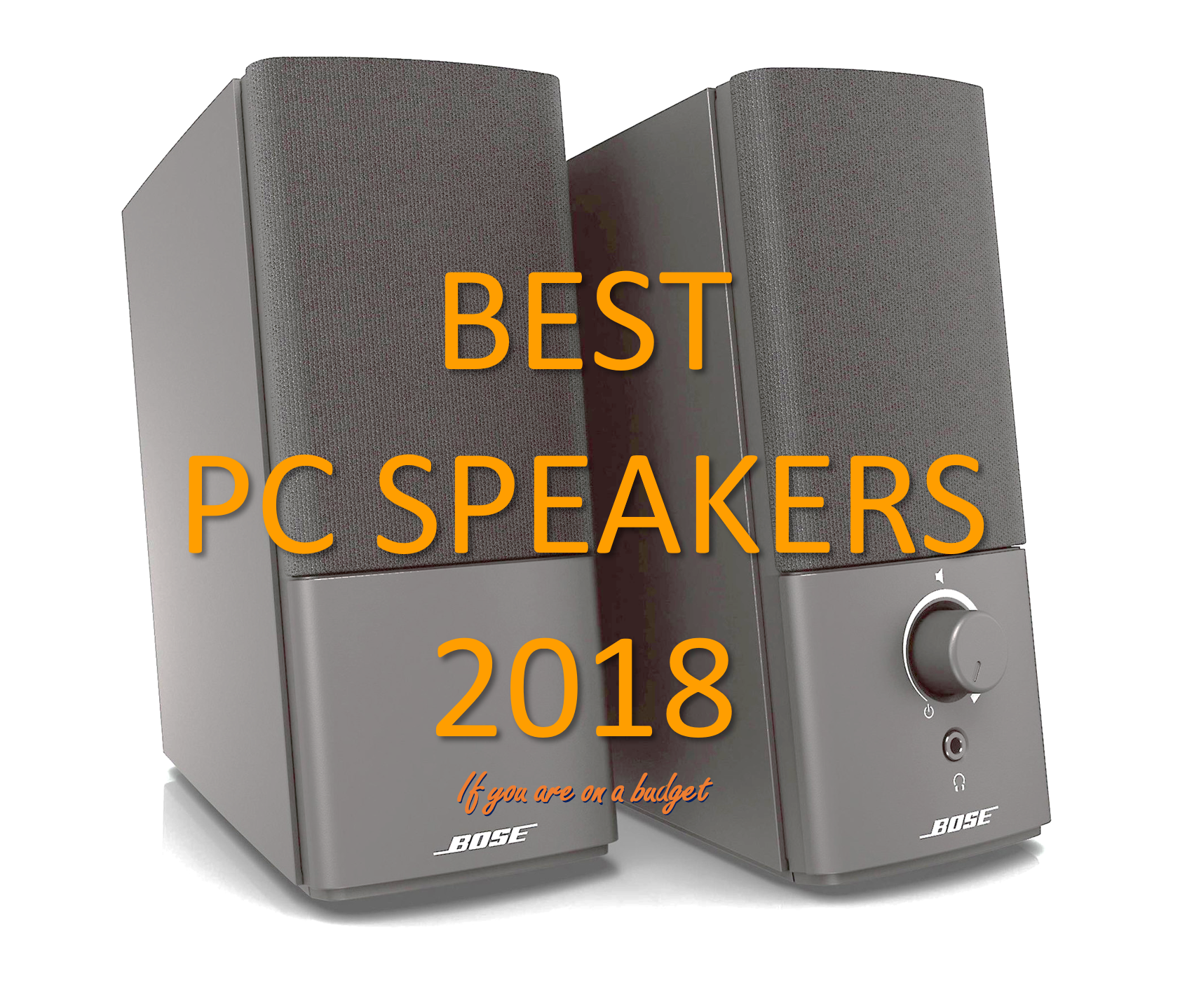 Best Budget Computer Speakers 2018
