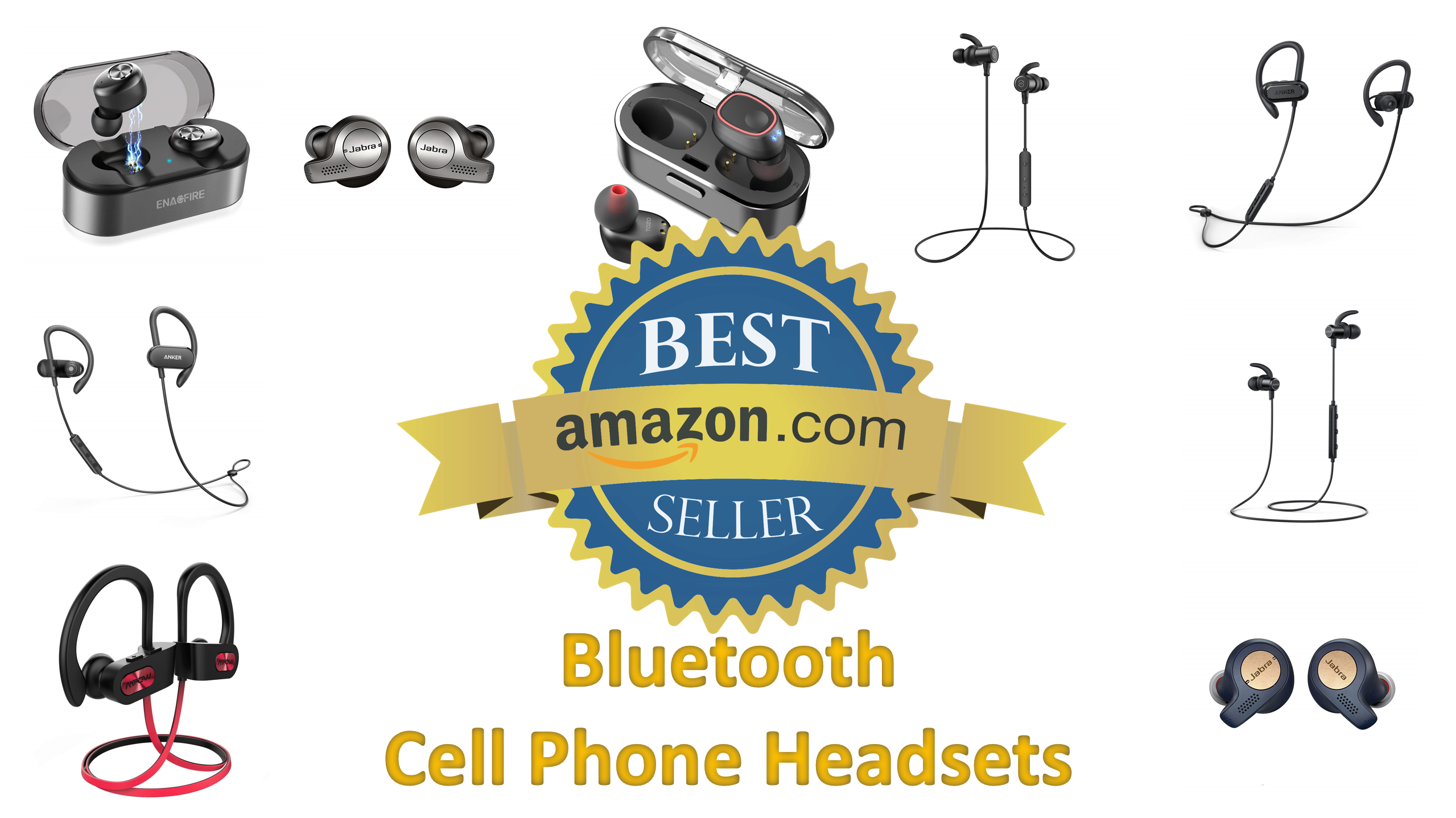 Best Sellers in Bluetooth Cell Phone Headsets