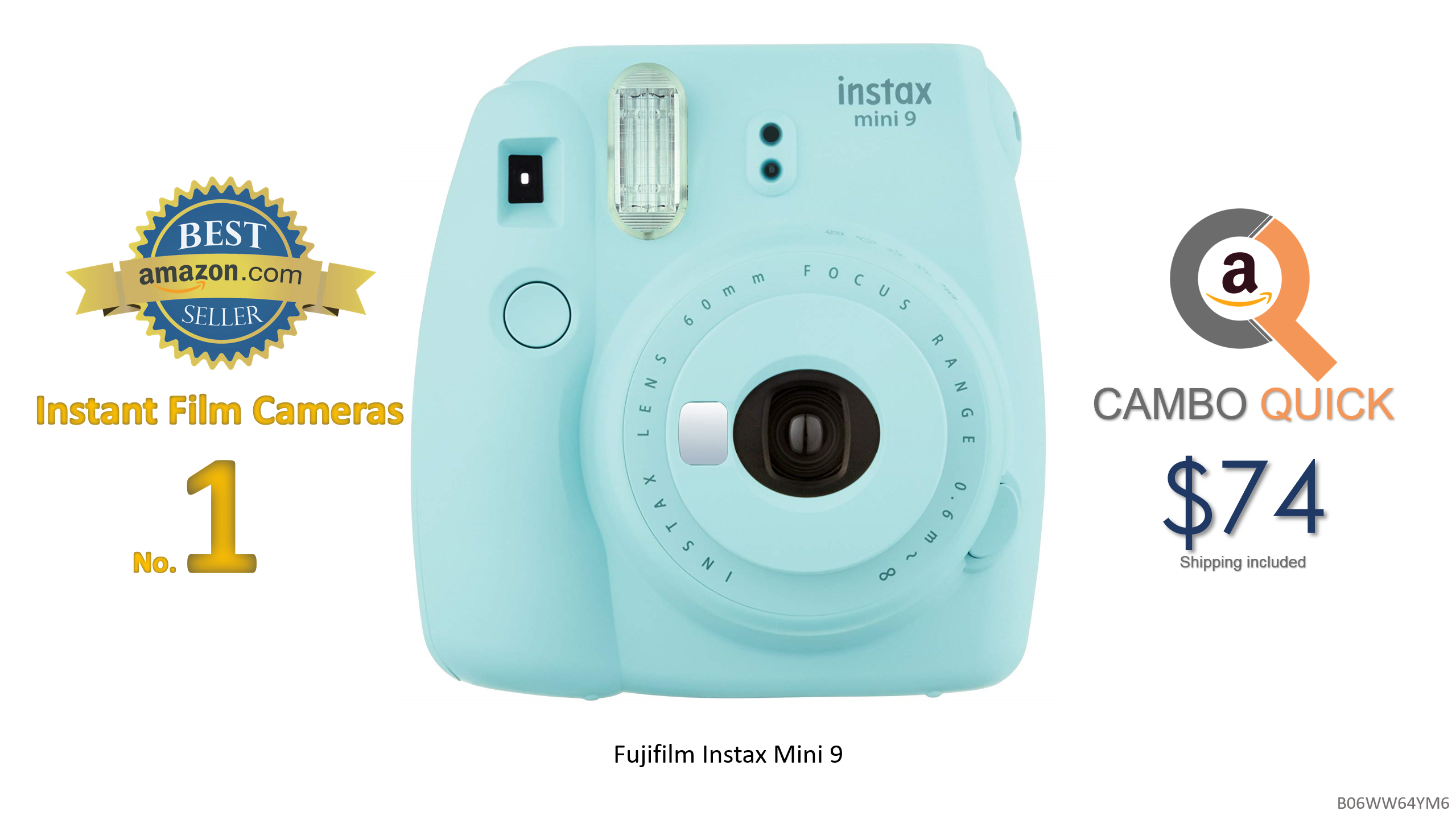 Daftar Harga Fujifilm Instax Mini 9 Instant Camera Ice Blue W Deco Nicholas Keith Rosebay 36mm Nk8107 Best Sellers In Film Cameras Gear